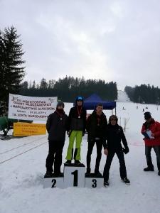 Bukówczanie na mistrzostwach Gminy W-CE w narciarstwie alpejskim-1