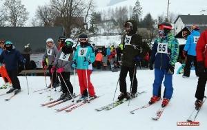 Bukówczanie na mistrzostwach Gminy W-CE w narciarstwie alpejskim-2