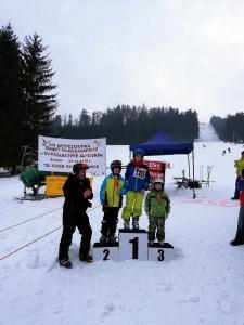 Bukówczanie na mistrzostwach Gminy W-CE w narciarstwie alpejskim-3