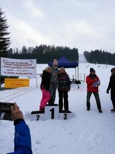 Bukówczanie na mistrzostwach Gminy W-CE w narciarstwie alpejskim-4