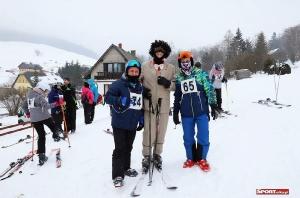 Bukówczanie na mistrzostwach Gminy W-CE w narciarstwie alpejskim-5