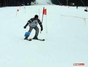 Bukówczanie na mistrzostwach Gminy W-CE w narciarstwie alpejskim-6