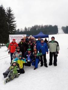 Bukówczanie na mistrzostwach Gminy W-CE w narciarstwie alpejskim-9