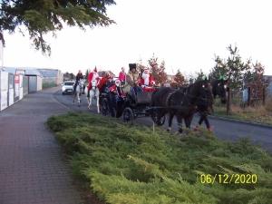 Przejazd św. Mikołaja przez Bukówiec-15