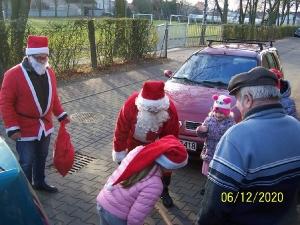 Przejazd św. Mikołaja przez Bukówiec-7