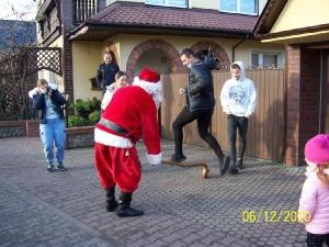 Przejazd św. Mikołaja przez Bukówiec-8