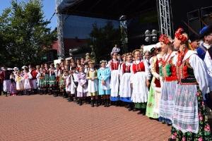 Zespół Nowe Lotko na Spotkaniach z Folklorem w Chludowie-17