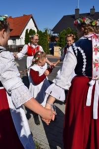 Zespół Nowe Lotko na Spotkaniach z Folklorem w Chludowie-28