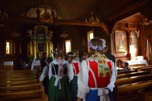 Zespół Nowe Lotko na Spotkaniach z Folklorem w Chludowie-30