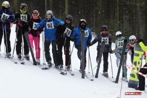 Bukówczanie na mistrzostwach Gminy W-CE w narciarstwie alpejskim