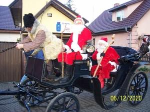 Przejazd św. Mikołaja przez Bukówiec-12